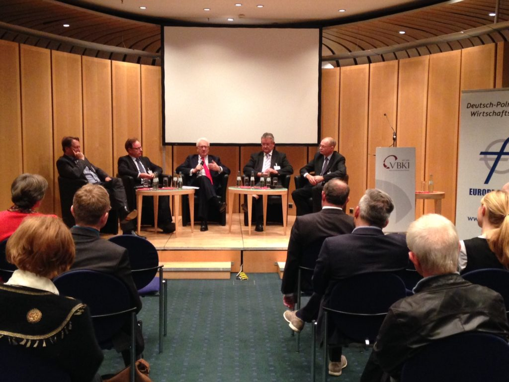 Podiumsdiskussion im Berlin am 22.10.2015