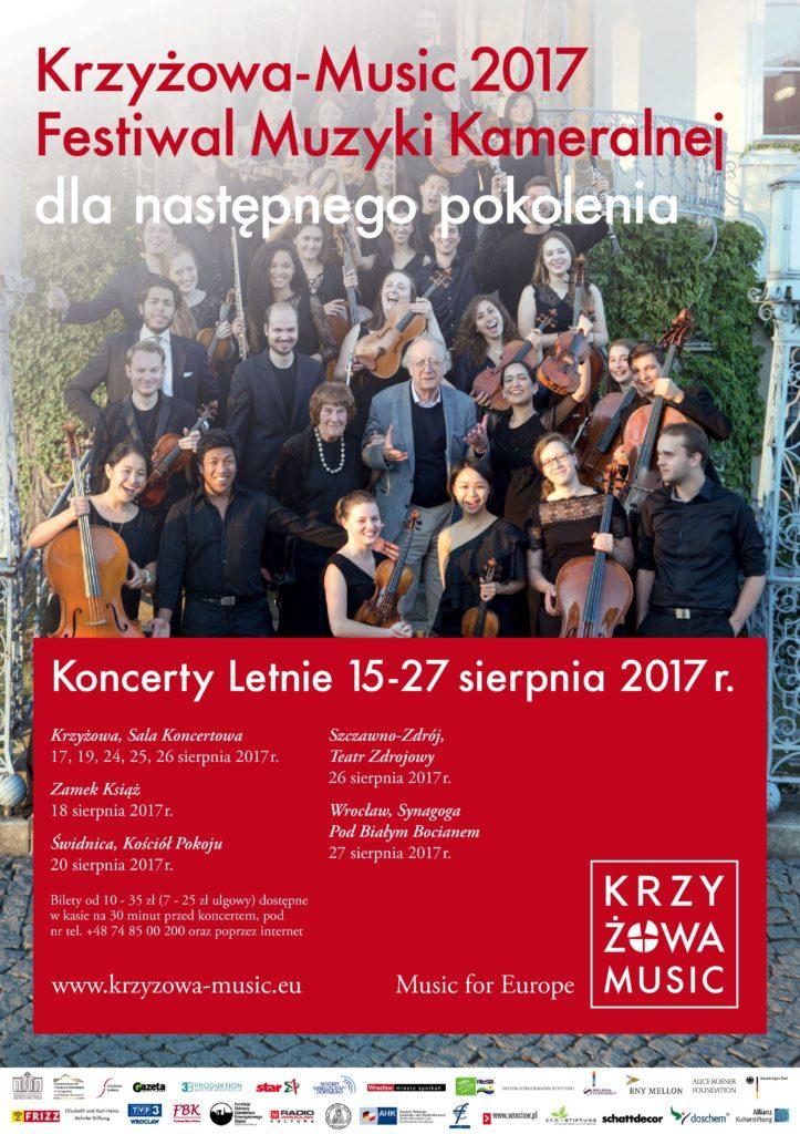 Save the date & ticket booking: 25.8. | Mit historischer Dampfeisenbahn zum Festivalkonzert Krzyżowa-Music