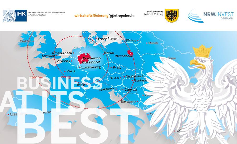Einladung: NRW-Wirtschaftskonferenz Polen 2016 – Gemeinsam für Investition und Handel | 15.11.2016 Dortmund