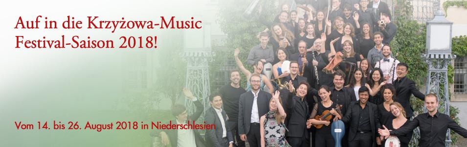 Der EF-Kulturtipp – Krzyżowa Music Sommerkonzerte 2018