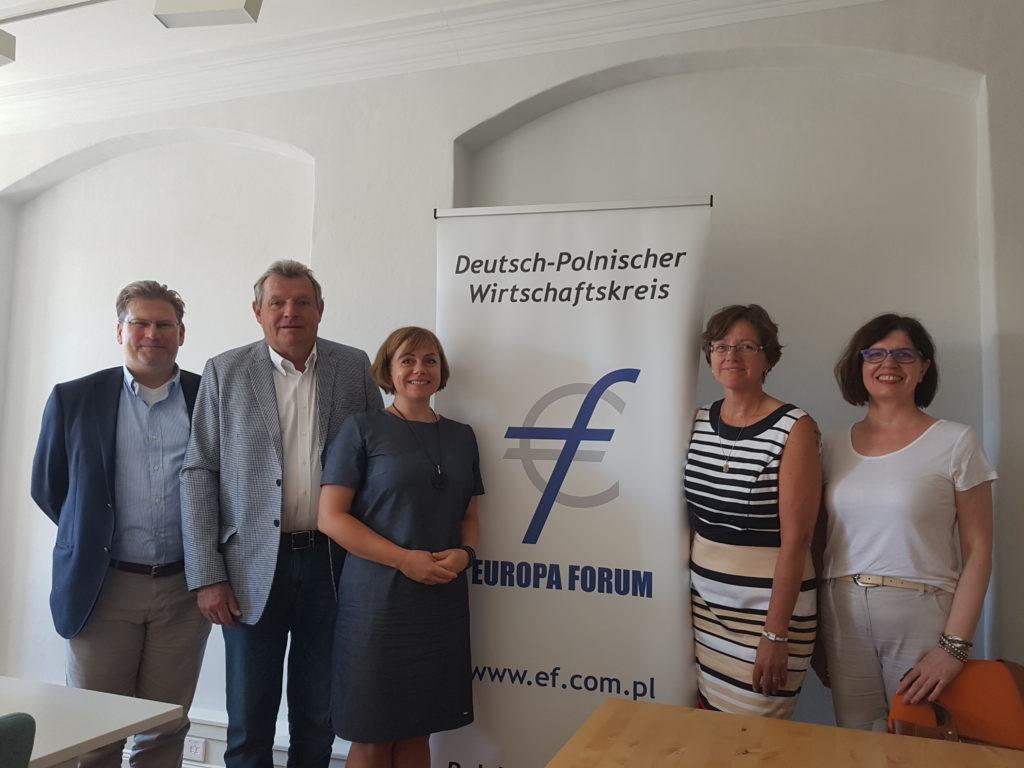 Das EUROPA FORUM besuchte am 07.08.2018 die neue stellvertretende Generalkonsulin