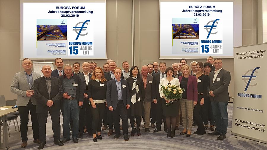 Das war die EF-Jahreshauptversammlung am 28.03.2019