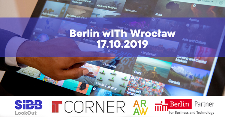 EINLADUNG ZUR Berlin wITh Wroclaw: Shaping Digital Transformation Together,  17.10.2019 in Wrocław